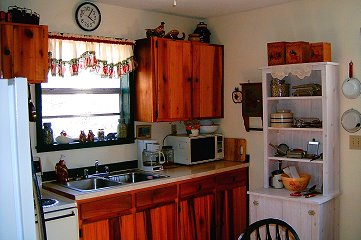 Make Tasty Treats In Our Vacation Home Kitchen In Fontana Dam
