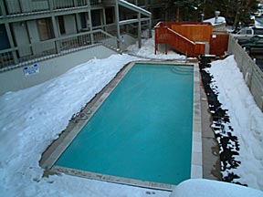 Heated Pool For Cold Winters
