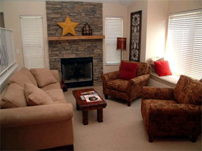 Living Room Vacation Rental In Park City