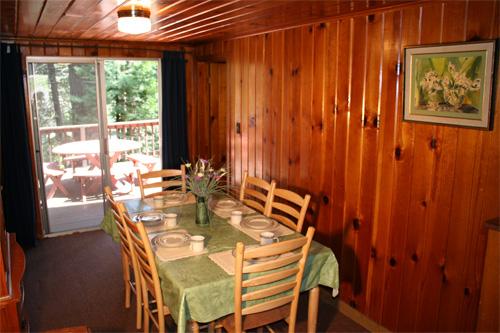 Twain Harte Dining Room