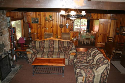 Twain Harte Family Room