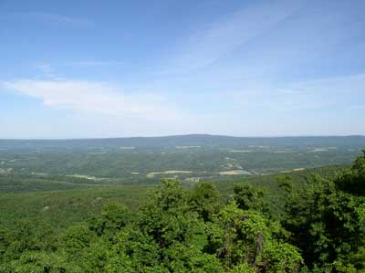 Cacapon Overlook View