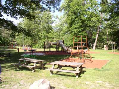 Playground/Picnic Area @ Cacapon State Park