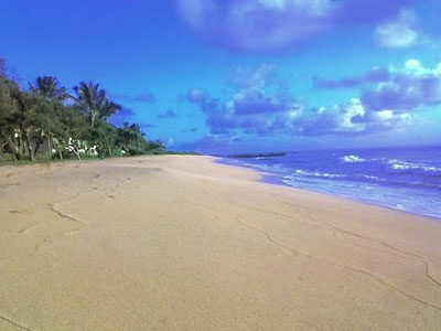 You'll be steps from Waipouli Beach!