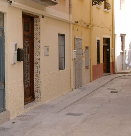 Our olde worlde Valencian townhouse - seen on BBC TV A Place in the Sun